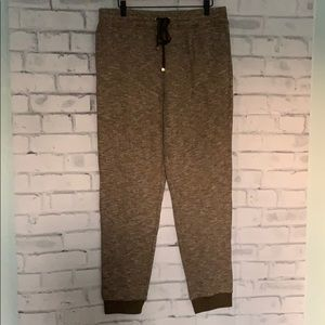 Pants - Isaac Mizaehi Green Gray Joggers